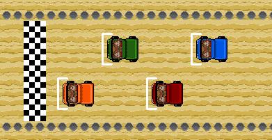 Desert Tracks (solo coding)